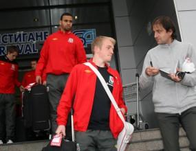 Уелс пристигна заедно с Брус Уилис в България