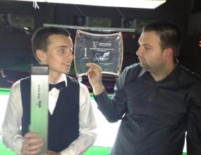 Георги Величков е републикански шампион по снукър на България