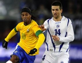 Автогол провали Босна след силен мач срещу Бразилия