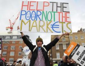 Плашат със стачки в Лондон по време на Игрите