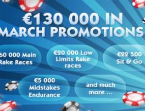 €130.000 в супер промоции този месец в 24h Poker