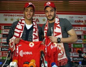 Армейците представиха двама нови - юношата на Левски: Чест е да нося шал на ЦСКА