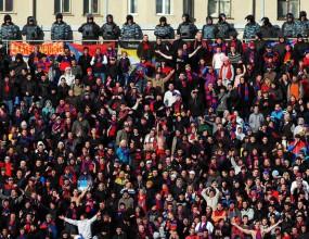 Около 100 арестувани фенове преди ЦСКА Москва - Зенит