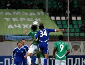 Благой Георгиев игра цял мач при победа на Терек (видео)