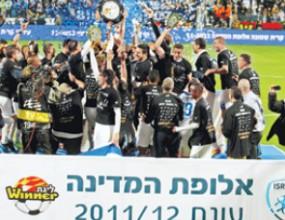 Ирони шампион на Израел пет кръга преди края