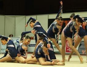 Сребро за жените на СК и бронз за девойките на СП по естетическа гимнастика
