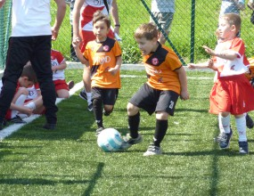 Детската Шампионска лига в Бургас излъчи своите победители