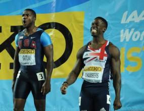 Гатлин: Чембърс заслужава да участва на Олимпийските игри в Лондон