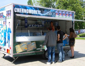 Черноморец продава билети за мача с Литекс в каравана