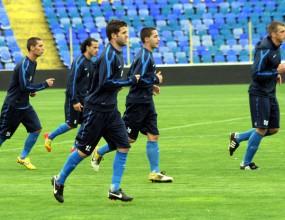 Проблем в Левски - цели седем не тренират