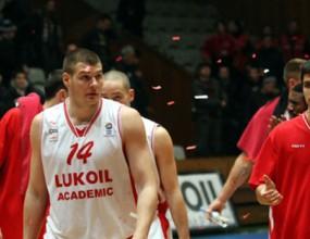 Лукойл Академик е първият полуфиналист в НБЛ