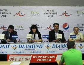 Звезди ще участват в M-Tel VIP Tennis Cup (видео)