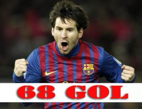 Всичките 68 гола на Меси от началото на сезона (видео)