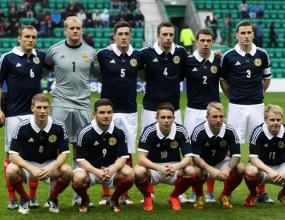 Групата на Шотландия за гостуването в Ловеч