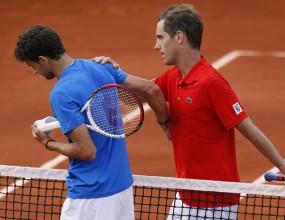 Гаске похвали Гришо: Той е уникален тенисист