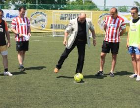 Антон Босилков откри Ариана Аматьорска Лига 2012 в Плевен