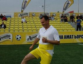 Гошо Гинчев даде началото на финалите на турнира на Ариана в Ст. Загора
