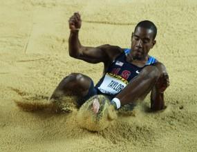 Американец с рекорд в тройния скок, световни шампиони на първите три места в Юджийн