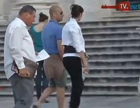 Папараци тормозят Гуардиола в Хърватия (видео)