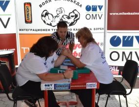 Интеграционен турнир по канадска борба за хора с увреждания