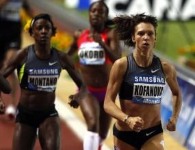 Рускиня и кениец №1 на 800 м в Монако