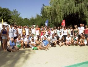 """Над 80 човека се включиха в първия ден на турнира """"DEVIN плажен тенис"""""""