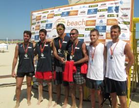 Узунов и Цветков спечелиха турнира Beach Volley Mania в Албена