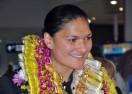 Олимпийска шампионка получи медала си 44 дни след състезанието