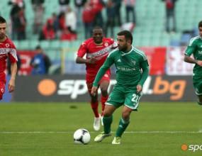 Лудогорец се премести в Пловдив - орлите закриха всички тренировки