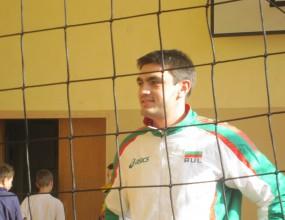 Иван Зарев се връща във волейбола на турнира Sport Volley