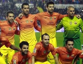 Барса с 11 играчи за историята