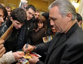 Филмът за Камата предизвика еуфория и скандирания в Ловеч