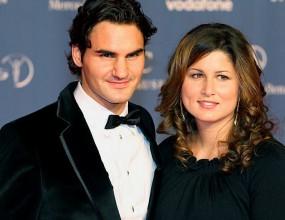 Федерер: Мирка има незаменима роля в моята кариера