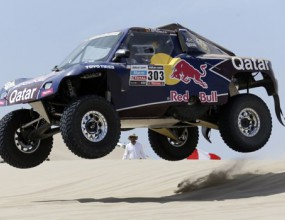 Ден 1: Карлос Сайнц най-бърз при откриването на Рали Дакар 2013