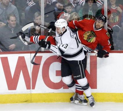 Чикаго лидер в НХЛ след минимална победа срещу Лос Анджелис