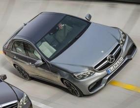 Първи снимки на новия Mercedes E63 AMG