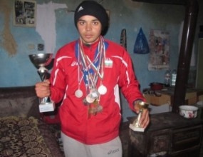 Стипендия спасява талант в леката атлетика от мизерен живот