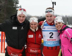 Норвежците спечелиха смесената щафета, България извън класирането