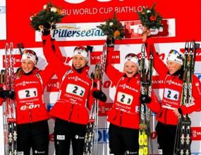 Норвегия над всички в женската щафета в Руполдинг, българките далеч назад