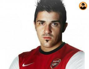Давид Вия е новото попълнение на Арсенал