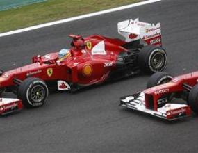 Марк Жене тест-пилот на Ферари
