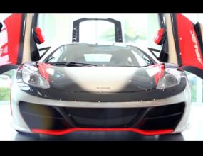 McLaren MP4-12C High Sport позира (Видео)