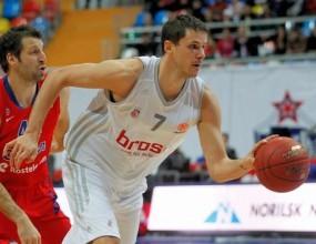 ЦСКА се измъчи срещу Брозе Баскетс, но отново спечели