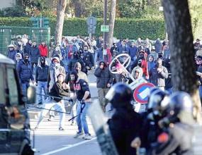 Побоища в Парма, фенове на Юве нападнаха ресторант с тояги