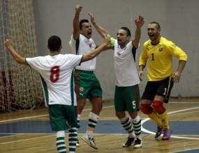 България и Румъния си размениха по една победа на футзал