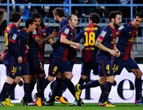 Барселона си уреди среща с Реал за Купата (видео)