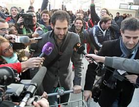 Диего Лопес пристигна, представят го в понеделник