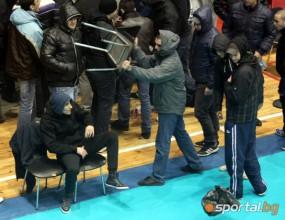 Специални мерки за следващите мачовете на Левски Волей в Европа