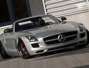 Mercedes SLS Roadster от Wheelsandmore