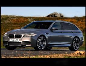 BMW M5 Touring (рендъринг)